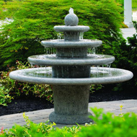 Asian Inspired Fountains