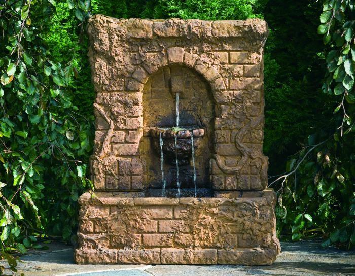 Ivy Garden Fountain. Wall Fountains